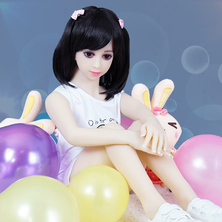 FREE SHIPPING TPE 100cm love font b doll b font Japanese anime full silicone mini font