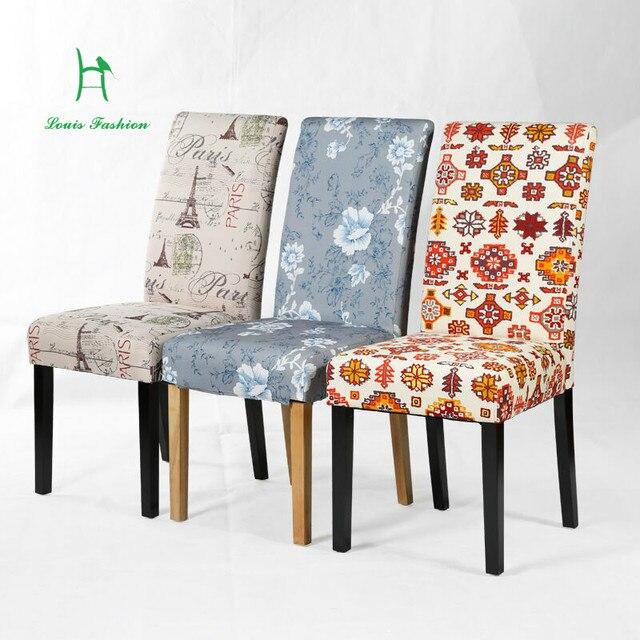 Louis Moda moderno e minimalista sedia da tavolo sedia da pranzo in ...