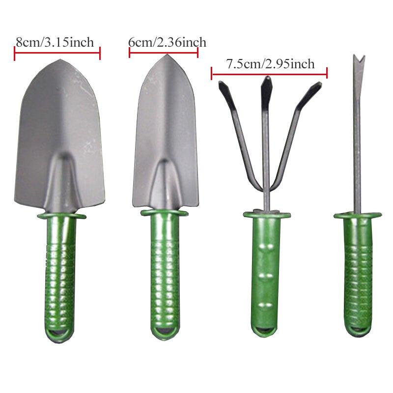 4pcs Durable Garden Tool Set for Digging Weeding Loosening Soil Transplanting BP