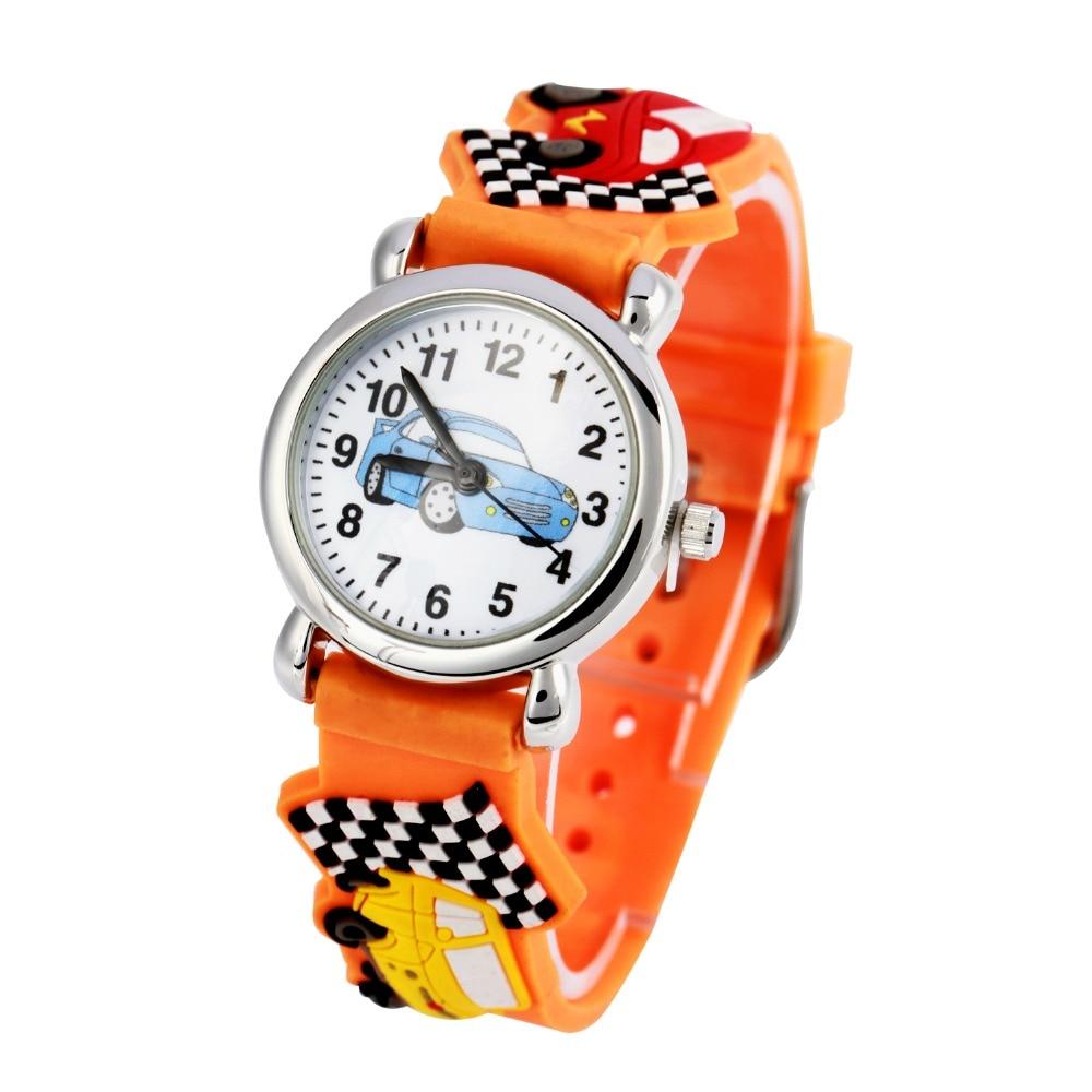New Arrival Kids Watches Children Girls And Boy Silicone Cars Brand Quartz Wrist Watch Fashion Casual Relogio