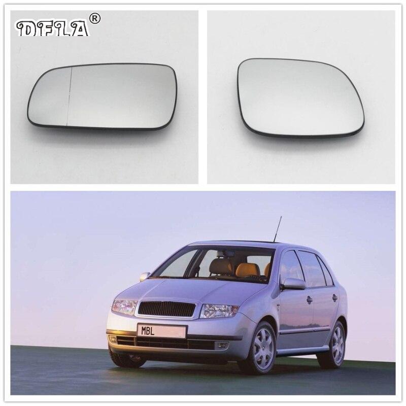 Para Skoda Fabia MK1 2000 2001 2002 2003 2004 2005 2006 2007 2008 Carro-Styling Novo Espelho De Vidro Aquecido