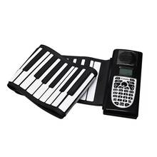 49 Tombol Roll Up Piano Fleksibel Silikon Roll-Up Piano Lipat Keyboard untuk Anak Mahasiswa Alat Musik(China)