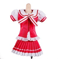 [wamami] 251# Pink&White Bowknot Dress/Suit/Uniform 1/4 SD AOD DOD DZ BJD Dollfie