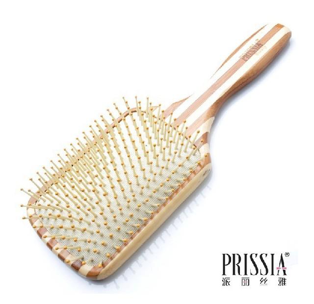 2013 recién llegado de gran Panel Beauty Hair Comb bambú Comb peine masaje envío gratis