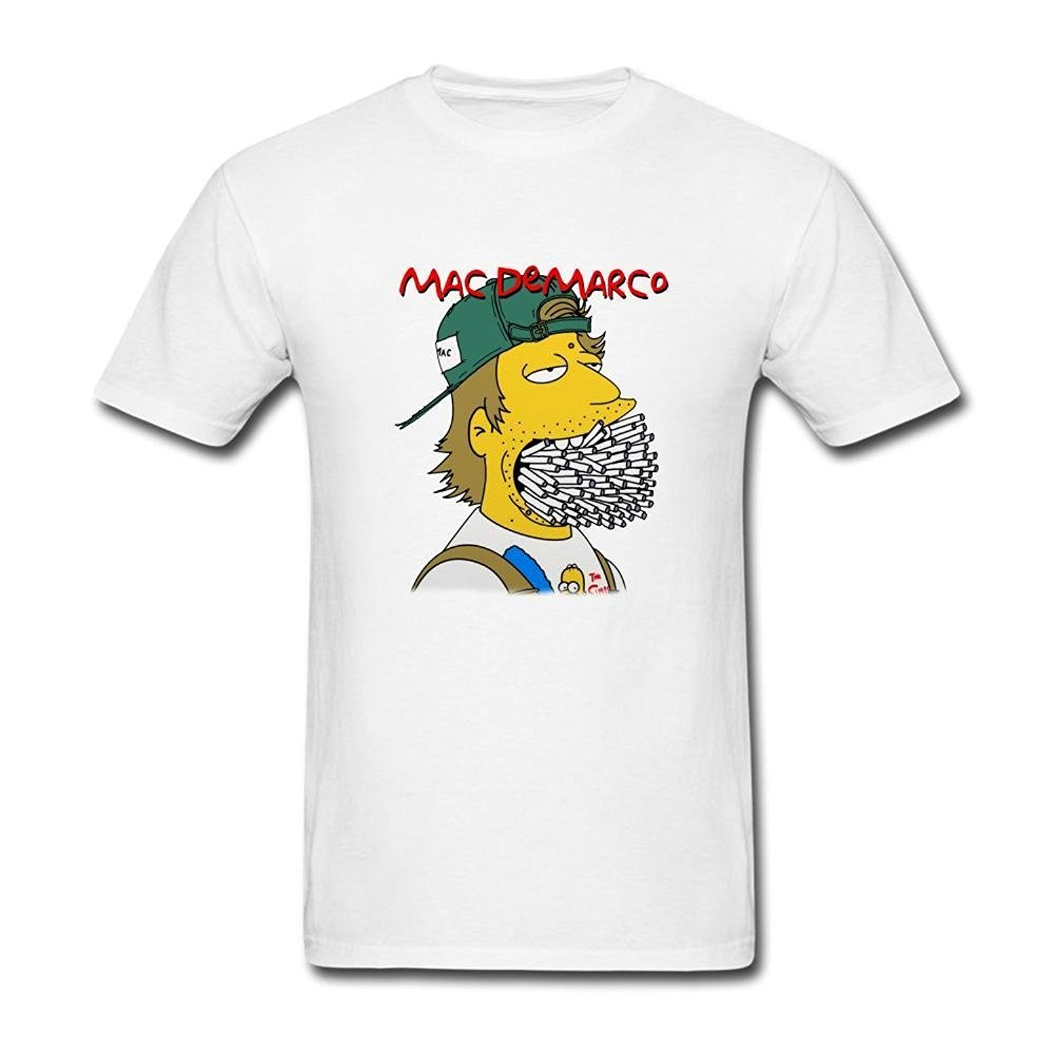 Design t shirt on mac - New 2017 Fashion Crew Neck Design Men S Short Sleeve Printing Machine Sunrain Men S Mac Demarco Art