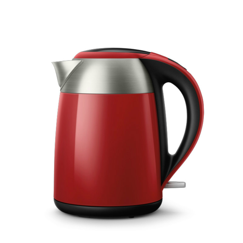 лучшая цена Electric kettle 304 stainless steel anti-ironing home insulation