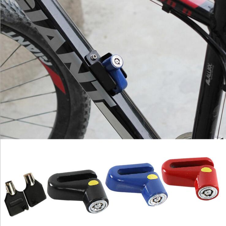 2 Bike Lock Bicycle Cycling Stainless Steel U-lock Anti-thief Security 2 Keys OY