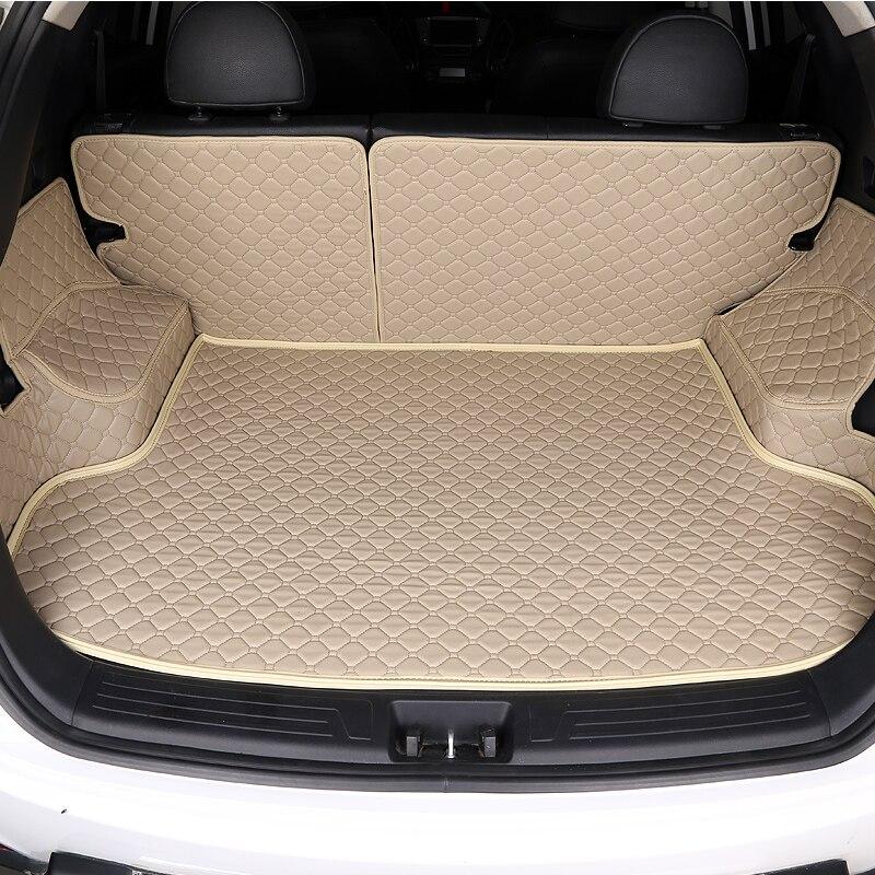 HLFNTF tapis de coffre de voiture personnalisé pour hyundai tucson ix35 elantra tapis de voiture azera lantra accent accessoires de voiture