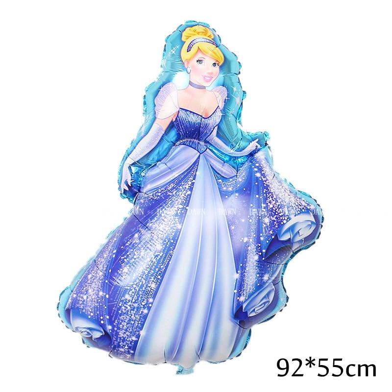 93-55cm-Large-Belle-Cinderella-Snow-White-Elsa-Princess-Foil-Balloons-Baby-Birthday-Party-Decoration-Helium (2)