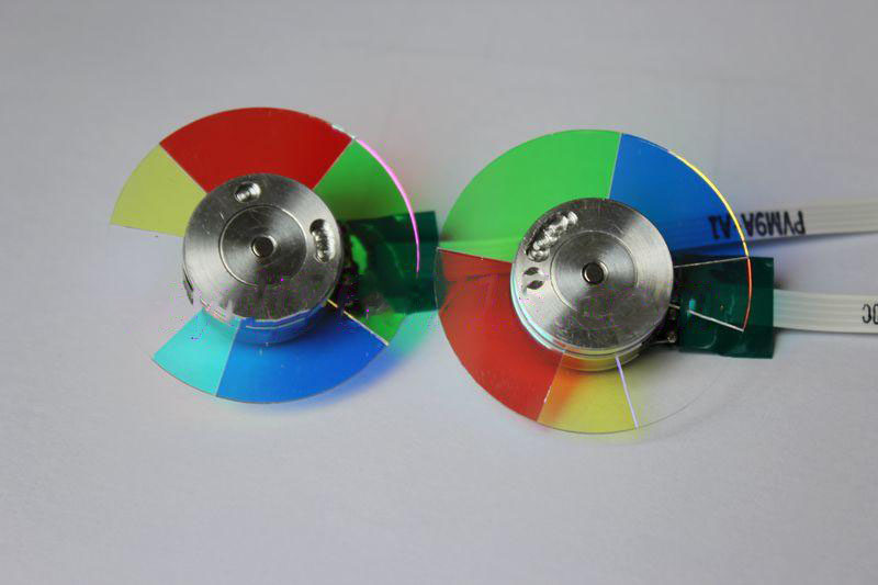 New For BENQ ES6128 ES616F EX6229 EX622D EX6270 DLP Projector Color Wheel brand new dlp projector color wheel for benq mw814st