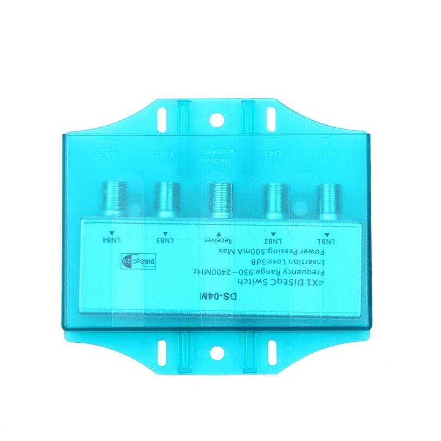 Kebidu Practical 4x1 W Premium DiSEqC 1.0 Model Satellite lnb Multi ...