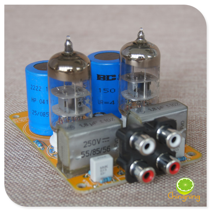 Updated Tube Amp Preamp 6N3 Vacuum Tube PreAmplifier SRPP ...