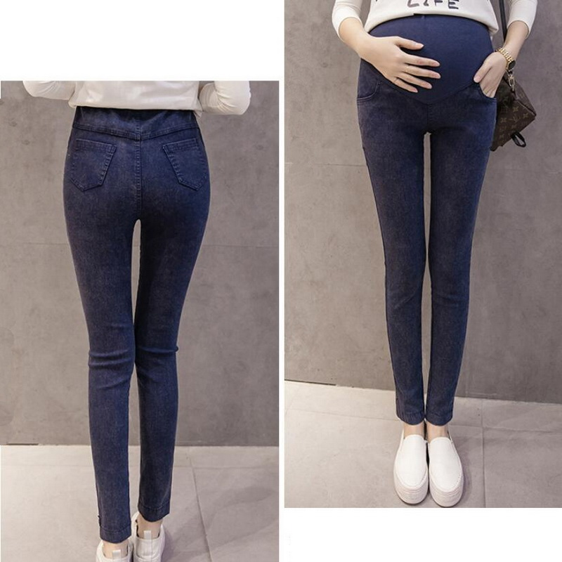 bb6d819d57922 Tonlinker Maternity Jeans High waist leggings pregnancy clothes Skinny  Pants Capris for pregnant women Plus maternity clothing-in Jeans from  Women's ...