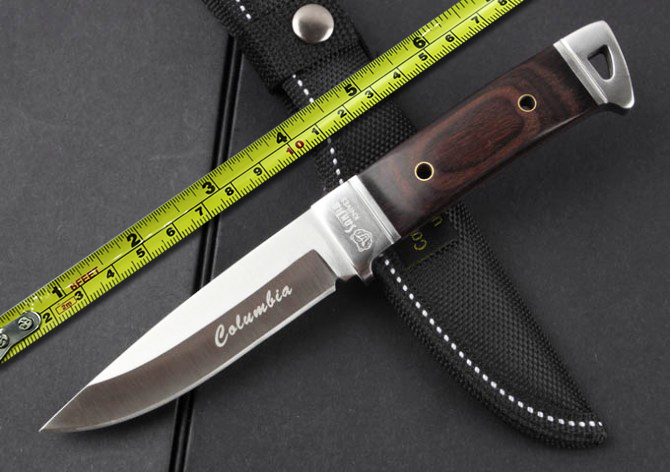 New Stainless Steel Fixed font b Knife b font font b Hunting b font font b