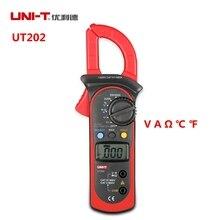 UNI-T UT202 400A 600V Digital Clamp Meters Current/A Voltage/V Resistance C F Temperature Multimeters Auto Range