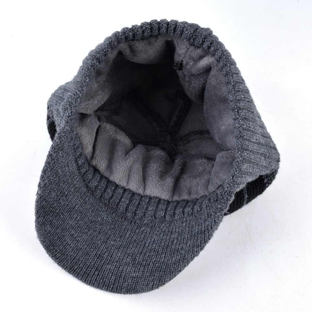 армия россии зимние армейские кепки для мужчин бейсболка Кости мужские вязаные шерстяные шапки двухслойные теплые фуражка шарф шапка набор шапка зимняя мужская