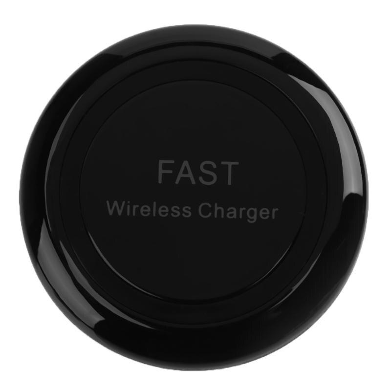 Для Samsung Galaxy Note 8 S8 QI Беспроводной Зарядное устройство быстрой зарядки Беспроводной Зарядное устройство площадку с Светодиодный индикатор д…