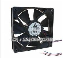 Original AFB1224HH 12025 24V 0.27A 12CM Industrial silent cooling fan