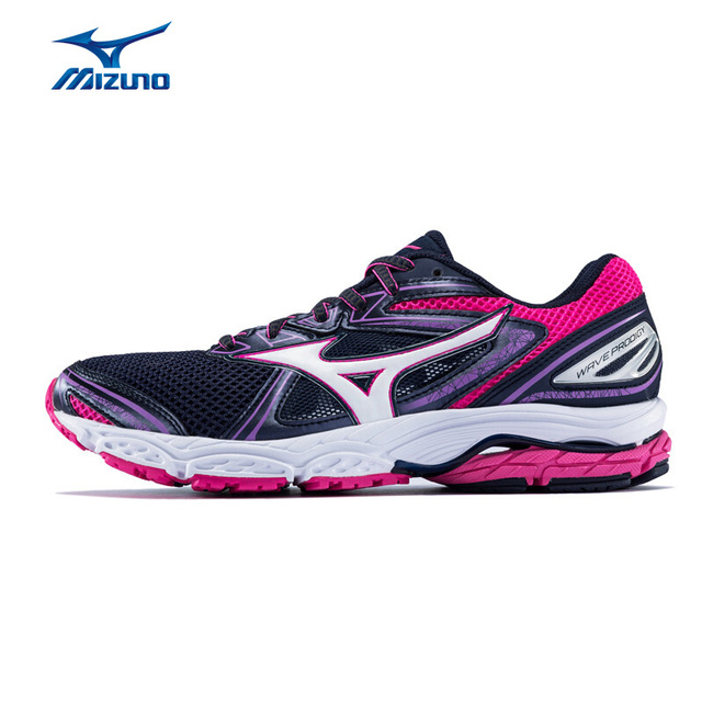 86d5fb86609d MIZUNO Women WAVE PRODIGY (W) Jogging Running Shoes Breathable Sports Shoes  Cushion Sneakers J1GD171001 XYP602