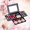 Universal Sexy Multicolor Eye Primer Luminous Eye Shadow Powder Blusher Palette  Waterproof Beauty Makeup Cosmetics Palette Kits