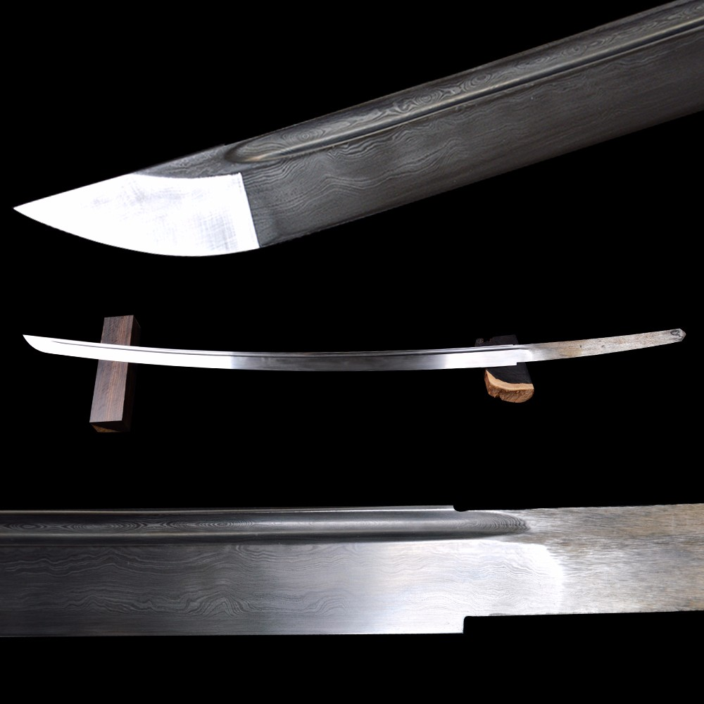 Fully Handmade Sharp Sword Blade For Japanese Vintage Samurai Katana