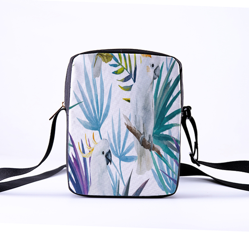 a9c9e945b5 CROWDALE Women Messenger Bags 3D-Denim Animal Shoulder Bag Handbags Toucan  photoes Children Crossbody Bag handbags 23x17x5cm