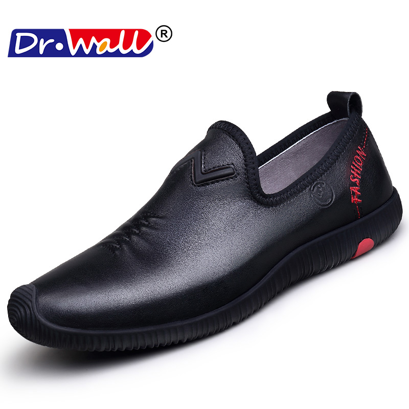 Big Size Men Genuine Leather Shoes Fashion Slip On Shoes For Men Italian Leather Men Loafers Luxury Brand Men Shoes 2017 brand new spring men fashion loafers shoes slip on flats genuine leather shoes young men breathable casual shoes wa 32