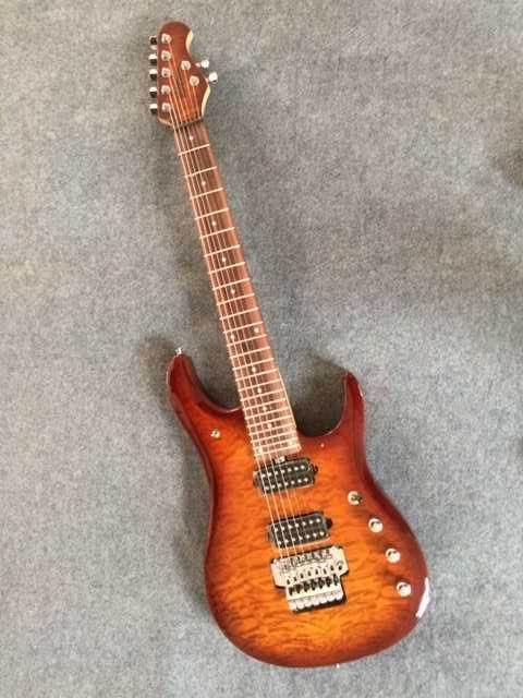 New Arrival 7String Electric Guitar Musicman Model In Sunburst 151012 холст для рисования по номерам два щенка 30х40 см х 6135