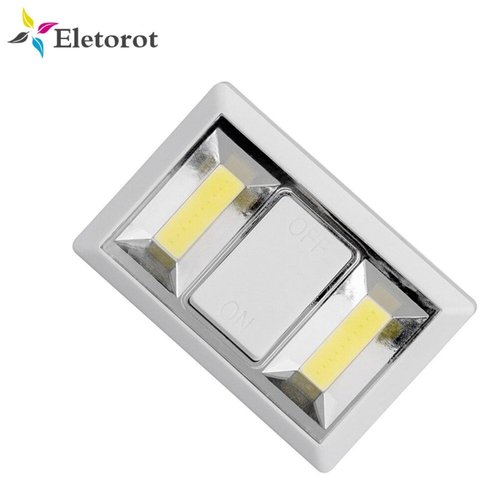 Magnetic Ultra Bright Mini COB LED Wall Light Switch Night
