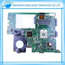 Original For ASUS laptop mainboard N76V N76VZ font b Motherboard b font with 4G RAM fully