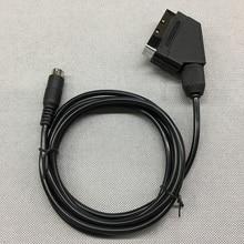 FZQWEG AV TV Video Cable Lead Scart Cable for SEGA for Mega Drive MD 2 for