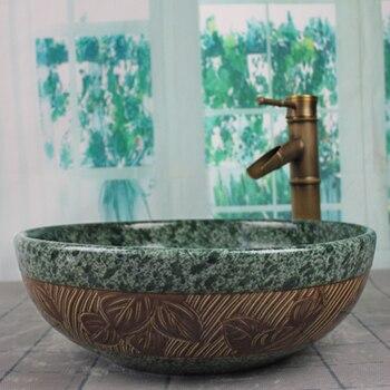 Lavello Tondo | Bagno Di Porcellana Vaso Di Ceramica Lavello Bacino Di Lavaggio Del Bacino Del Lavabo Del Bacino Artificiale