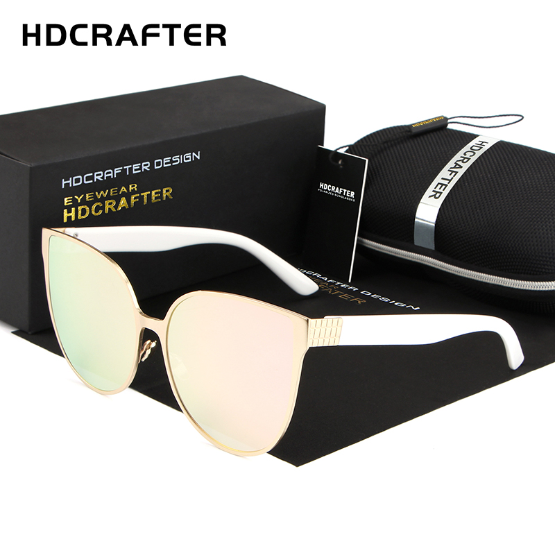 HDCRAFTER 2018 women sunglasses classic cat eye beauty sun glasses for women Luxury Fashion for ladies
