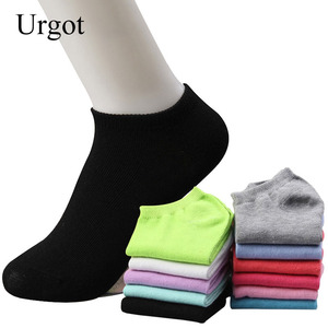Urgot 10pcs=5pairs/lot Women Cotton Sock