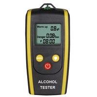 Portable Digital Breath Alcohol Tester LCD Display Professional Police Alcohol Breath Analyzer Breathalyzer Alkohol Detector