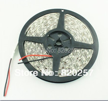 5m/roll DC12v SMD5050 60leds/M warm white color led strip free shipping