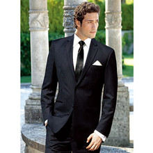 formal tuxedo for wedding suits black custom made suit groom suit high quality prom dress for the best man