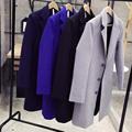 Mens Trench Coat business casual jacket 2016 New winter Men Long Coat Autumn Winter Windproof Slim Trench Coat Men