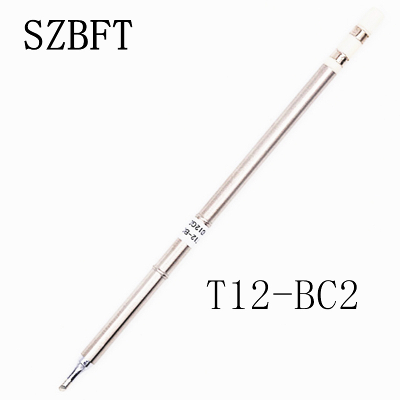 SZBFT Soldering Iron Tips T12-BC2 B B2 BC1 BC2 BC3 B4 BCF1 Ect Series For Hakko Soldering Rework Station FX-951 FX-952