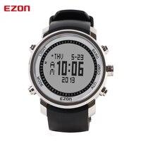 EZON альтиметр барометр термометр компасы прогноз погоды для мужчин винтажные часы Открытый Спорт Восхождение пеший Туризм часы H506A11