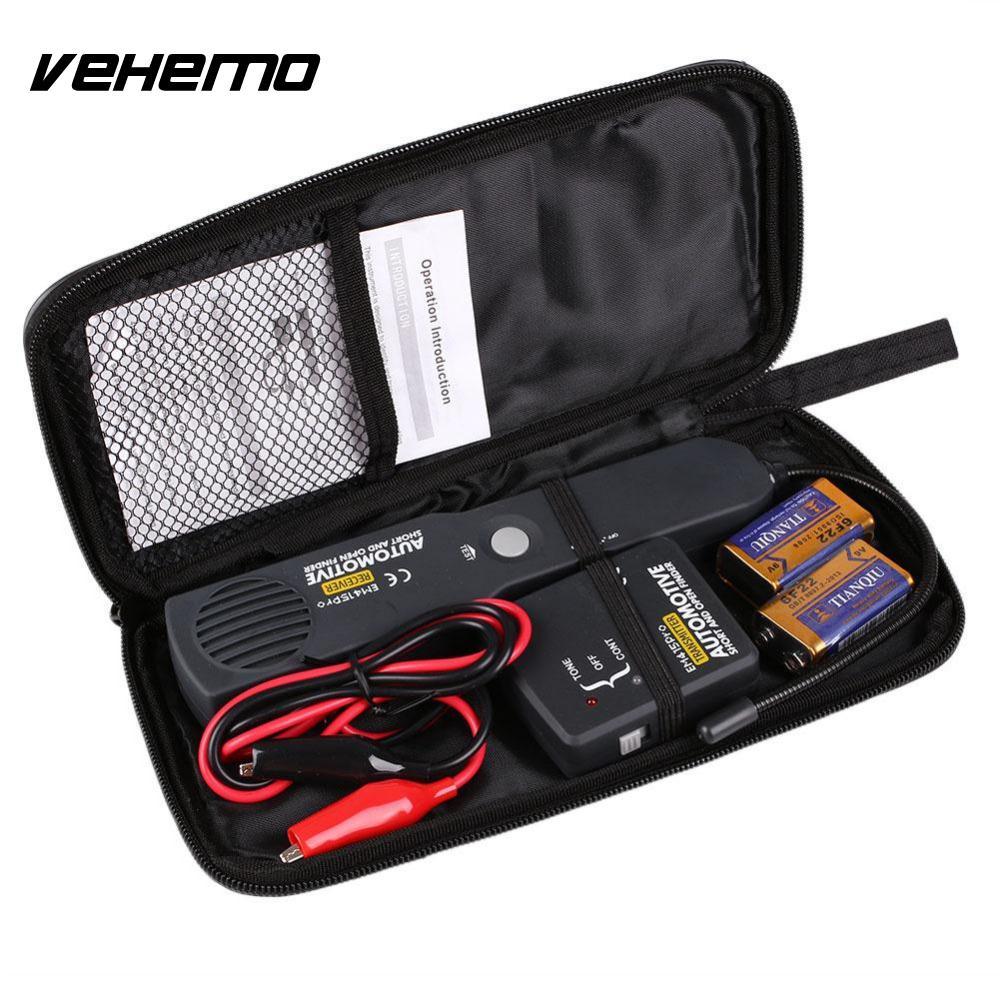 ФОТО  Car Automotive Open Short Circuit Detector Tester Vehicle Short Open Finder & Reciever EM415PRO Car Repair Diagnostic Tool