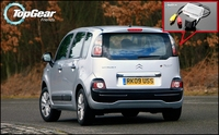 Car Camera For Citroen C3 Picasso High Quality Rear View Back Up Camera For TopGear Fans Use   CCD + RCA