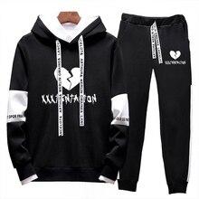 Frdun Tommy 2018 Autumn/Winter XXXTentacion Revenge Kill Hip Hop Hoodies Hooded