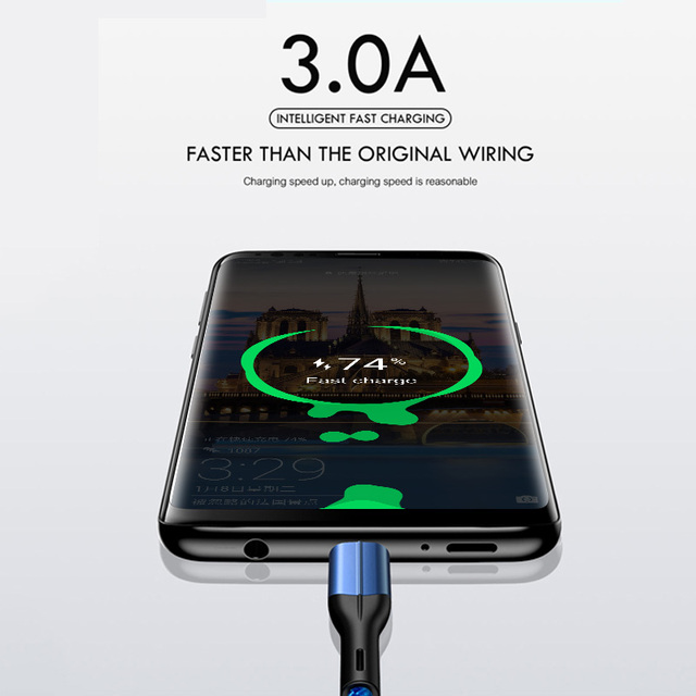 3 A Micro USB Cable for Fast Charging