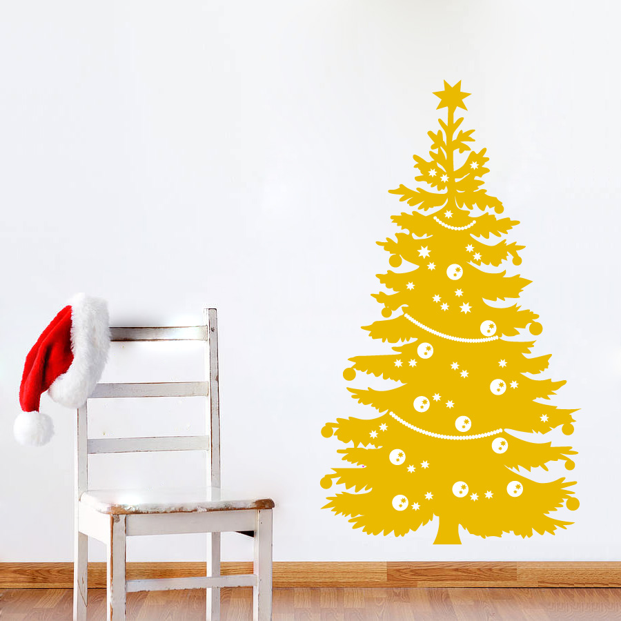 Funky Christmas Tree Wall Art Elaboration - Wall Art Collections ...