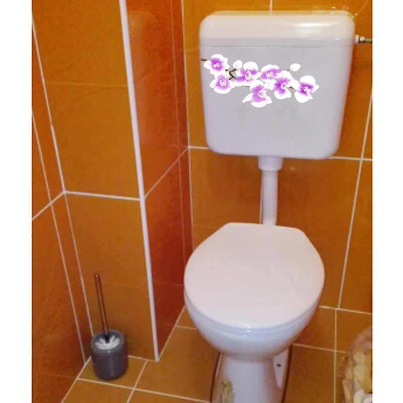 YOJA 22.1*9.7 CM fioletowy storczyk dzieci naklejka ścienna do pokoju naklejka moda WC WC dekoracji T1-0580