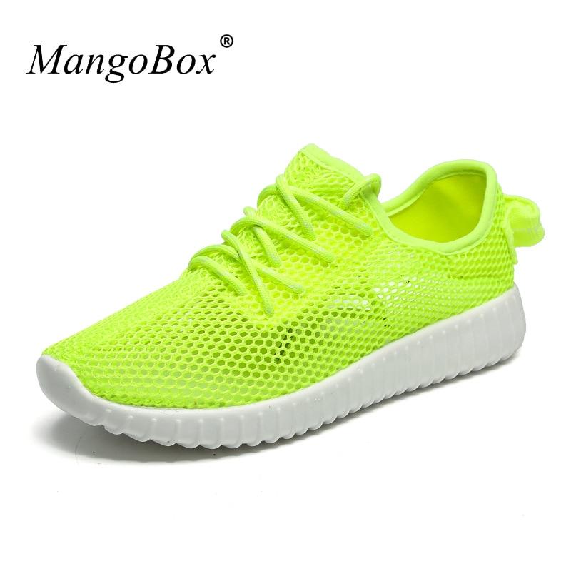 2016 Barefoot Shoes Girl Lightweight Mesh Sneakers New Cool Walking Shoes Women Green Female Sport Shoe Pink Women Athletic Shoe