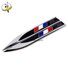 For France Flag Logo Car Sticker Emblem Badge Auto Car Styling For Renault Peugeot 208 308