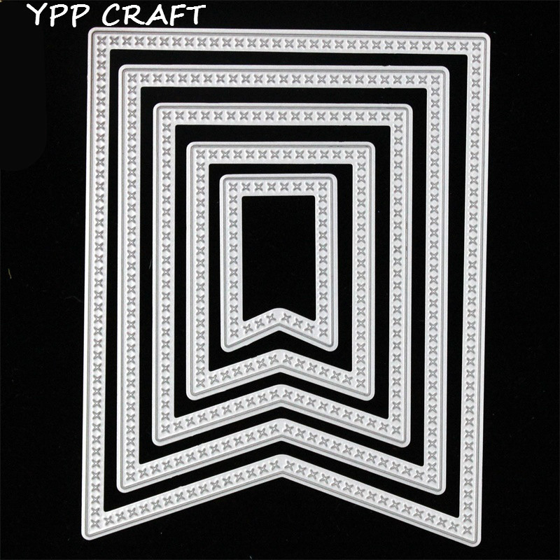 YPP Craft cuadros de metal esquinas set Recortes de papel plantillas ...