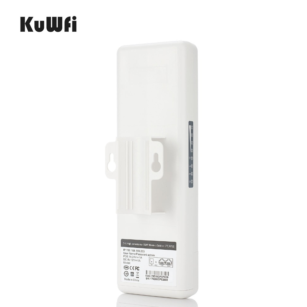Image 4 - 450Mbps CPE Wifi Router Outdoor Wireless Bridge CPE 5.8G High Power Wireless Router 2km Wifi Range Wifi Repeater Wifi Extender-in Wireless Routers from Computer & Office